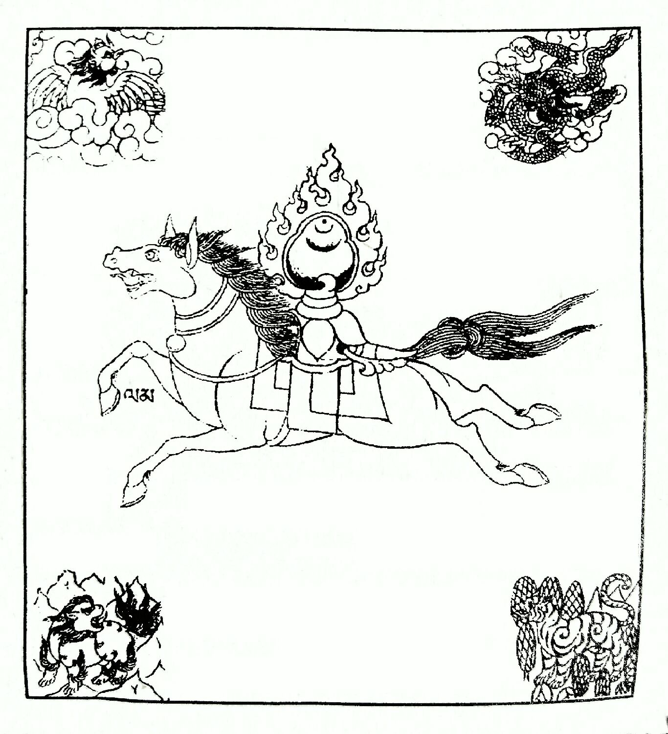 Himalayan Buddhist Art 101 Prayer Flags Part 1 Tricycle The